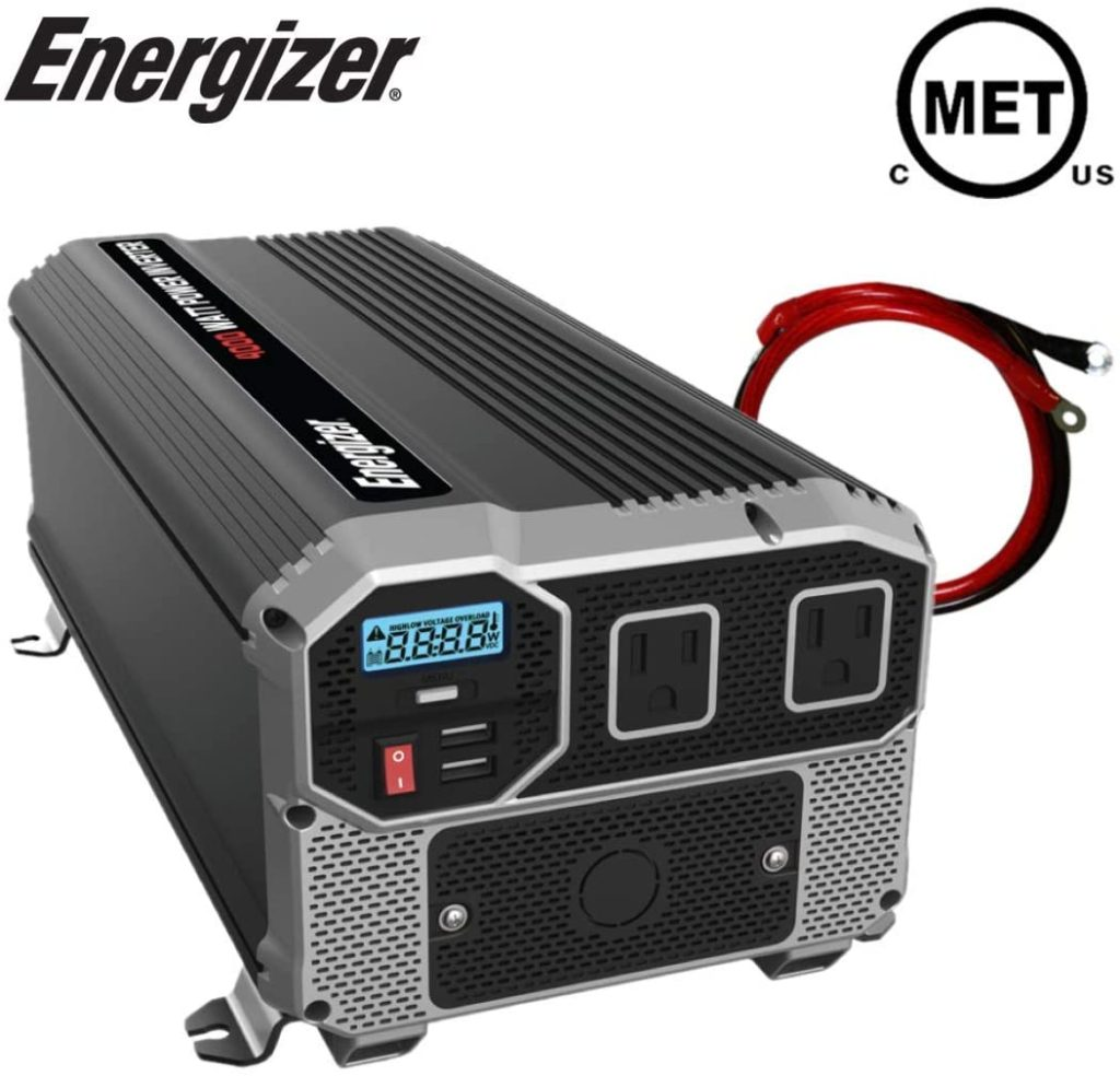 Energizer 4000 watt inverter