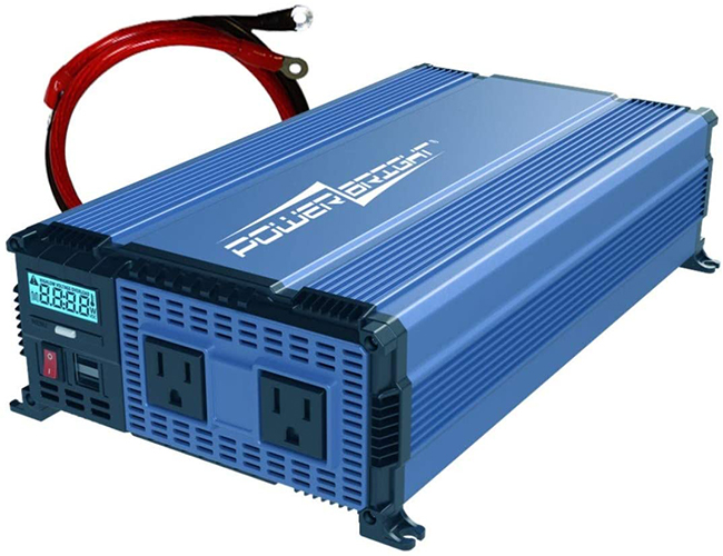 front view of Power Bright PW1100-12 Power Inverter